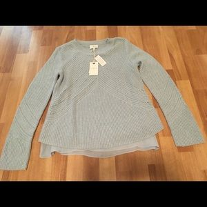 Lucky Brand Blue NWT Sweater in Size Medium